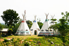 Wigwam Royalty Free Stock Photos