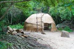 Wigwam des amerikanischen Ureinwohners Stockbilder