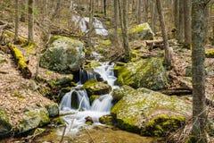 Wigwam Falls - Blue Ridge Parkway, Virginia, USA - 2. Wigwam Falls located at the Yankee Horse Ridge Parking Area at milepost 34.4 on the Blue Ridge Parkway Stock Photography