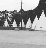 The wigwam inn Royalty Free Stock Image