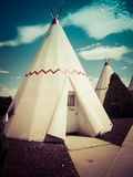 Wigwam Motel Arizona. Teepee Motel Room at Wigwam Motel in Holbrook, Arizona stock image