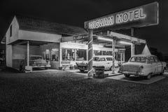 Wigwam-Motel auf historischem Route 66 in Holbrook, Arizona USA stockbild