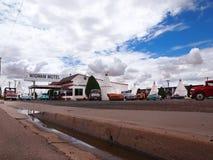 Wigwam-Motel in Holbrook Arizona stockfotos