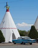 Wigwam Motel, Route 66 Stock Photography