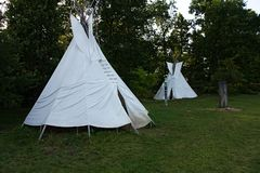 Wigwam Stock Photography