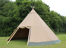 Wigwam Tent. Royalty Free Stock Photography