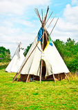 Wigwams Royalty Free Stock Images