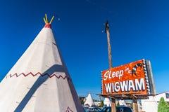 Wigwamu motel, Holbrook Obrazy Royalty Free