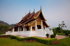 Wihan Phrachao Lan Thong. At Mae Fah Luang University, Chiang Rai, Thailand Royalty Free Stock Photography