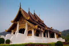 Wihan Phrachao Lan Thong. At Mae Fah Luang University, Chiang Rai, Thailand Stock Image