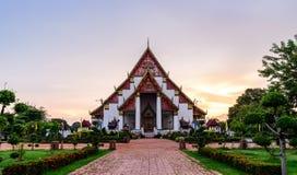 Wihan Phramongkhon Bophit in Ayutthaya historic park, Thailand Stock Images