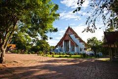 Wiharn Phra Mongkol Bophit της Ταϊλάνδης Στοκ φωτογραφία με δικαίωμα ελεύθερης χρήσης