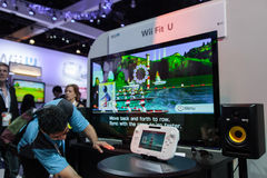 Wii Fit U at E3 2012 Royalty Free Stock Photography