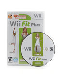 Wii Fit Video Game. A studio shot of Nintendo Wii's popular video game Wii Fit Plus Royalty Free Stock Images