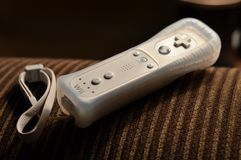Wii remote technology Royalty Free Stock Photos