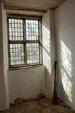 Wiindow en el castillo de Läckö Imágenes de archivo libres de regalías