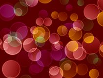 Wiith astratto del fondo di Bokeh brillante royalty illustrazione gratis