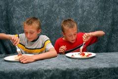 Wij houden van pastei Stock Foto's