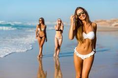 Wij houden van strand Stock Foto's