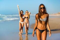 Wij houden van strand Stock Foto