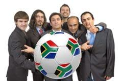 Wij houden van voetbal Stock Afbeeldingen