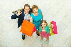 Wij houden van winkelend! stock afbeelding