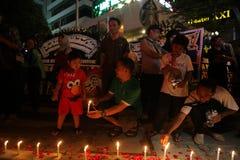 Wij niet Bange Campagne na de Ontploffing van Djakarta royalty-vrije stock foto