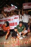 Wij niet Bange Campagne na de Ontploffing van Djakarta royalty-vrije stock foto's