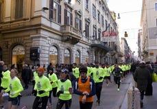 Wij stellen de concurrentie van Rome in werking stock foto