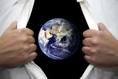 Wij zijn de aarde royalty-vrije stock afbeelding