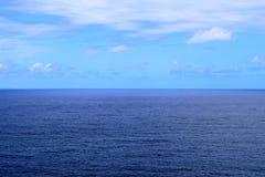 Wijd Open Blauwe Oceaan stock foto