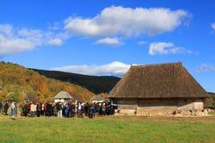 Wijding van oude houten orthodoxe kerken Royalty-vrije Stock Foto's