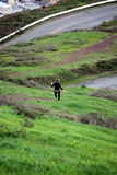 Wijfje die weglopen Stock Foto