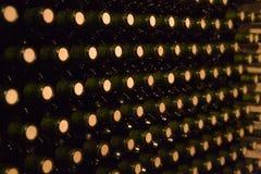 Wijn bottles4 Stock Afbeeldingen