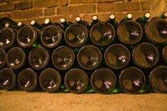 Wijn bottles5 Stock Foto's