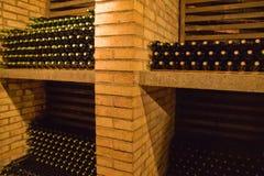 Wijn bottles6 Royalty-vrije Stock Afbeeldingen