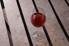 Wijn De glazen van de wijn Rode wijn Royalty-vrije Stock Foto
