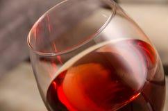 Wijn De glazen van de wijn Rode wijn Stock Foto's