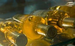 Wijn in een kelder Stock Foto
