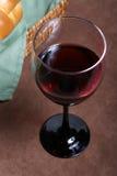 Wijn en Brood Stock Foto