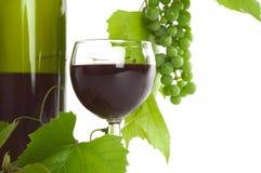 Wijn en druif Royalty-vrije Stock Afbeelding