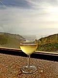 Wijn en een goede geest royalty-vrije stock afbeeldingen