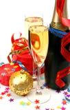 Wijn en giften Royalty-vrije Stock Afbeeldingen