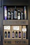 wijn flessen Stock Fotografie