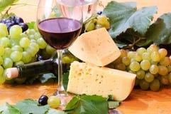 Wijn in glas Royalty-vrije Stock Foto's