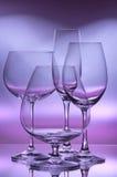wijn glazen   Stock Afbeeldingen