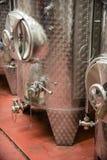 Wijn het distilleren Stock Fotografie