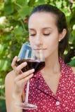 Wijn het Proeven Royalty-vrije Stock Afbeeldingen