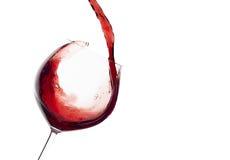 Wijn Plons stock afbeelding