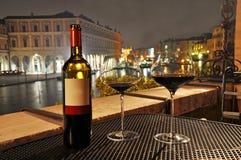 Wijn in Venetië Royalty-vrije Stock Foto